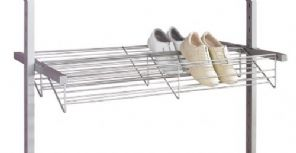 Double shoe rack 900mm wide for your Aura Interior storage system